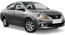 Nissan Almera cheap car rental in phuket