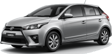 Toyota Yaris cheap car rental in phuket