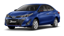 Toyota Yaris Ativ cheap car rental in phuket